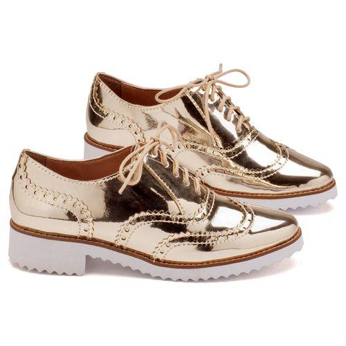 Laranja_Lima_Shoes_Sapatos_Femininos_Oxford_Laranja_Lima_Shoes_Salto_de_4_cm_em_Sintetico_Metalizado_-_Codigo_-_3417_1