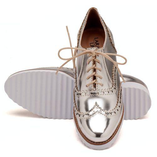 Laranja_Lima_Shoes_Sapatos_Femininos_Oxford_Laranja_Lima_Shoes_Salto_de_4_cm_em_Sintetico_Metalizado_-_Codigo_-_3417_2