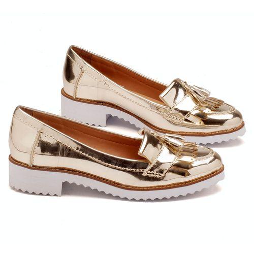 Laranja_Lima_Shoes_Sapatos_Femininos_Oxford_Laranja_Lima_Shoes_Salto_de_4_cm_em_Sintetico_Metalizado_-_Codigo_-_3418_1