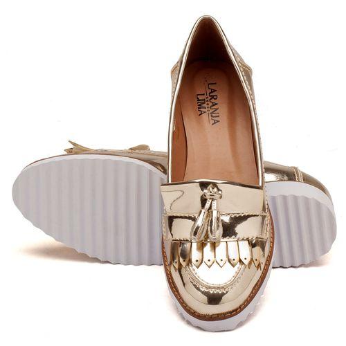 Laranja_Lima_Shoes_Sapatos_Femininos_Oxford_Laranja_Lima_Shoes_Salto_de_4_cm_em_Sintetico_Metalizado_-_Codigo_-_3418_2