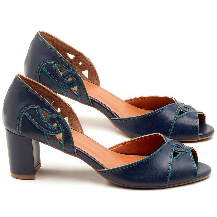 Laranja_Lima_Shoes_Sapatos_Femininos_Sandalia_Laranja_Lima_Shoes_Classic_Salto_de_6_cm_em_Couro_Marinho_-_Codigo_-_3437_1