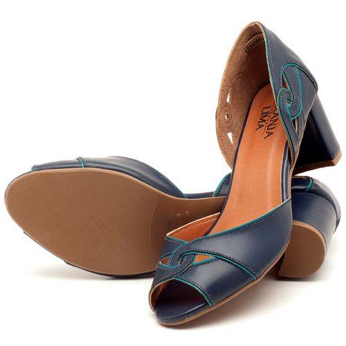 Laranja_Lima_Shoes_Sapatos_Femininos_Sandalia_Laranja_Lima_Shoes_Classic_Salto_de_6_cm_em_Couro_Marinho_-_Codigo_-_3437_2