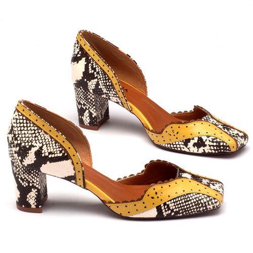 Laranja_Lima_Shoes_Sapatos_Femininos_Scarpin_Bico_Quadrado_Salto_de_6_cm_em_Partes_em_Couro_e_Partes_em_Sintetico_Amarelo_-_Codigo_-_3443_1