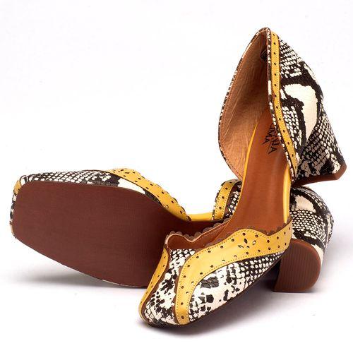 Laranja_Lima_Shoes_Sapatos_Femininos_Scarpin_Bico_Quadrado_Salto_de_6_cm_em_Partes_em_Couro_e_Partes_em_Sintetico_Amarelo_-_Codigo_-_3443_2