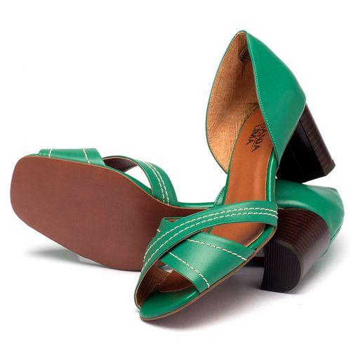 Laranja_Lima_Shoes_Sapatos_Femininos_Sandalia_Laranja_Lima_Shoes_Classic_Salto_de_65_cm_em_Couro_Verde_-_Codigo_-_3446_2
