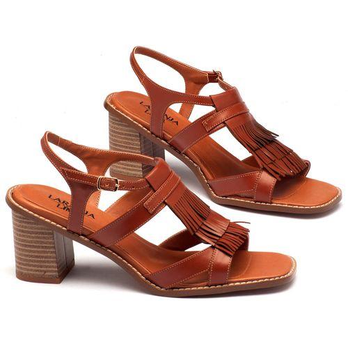 Laranja_Lima_Shoes_Sapatos_Femininos_Sandalia_Laranja_Lima_Shoes_Classic_Salto_de_7_cm_em_Couro_Marrom_-_Codigo_-_3463_1