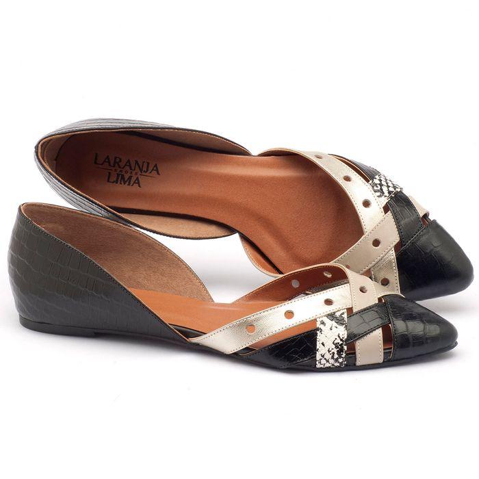 Laranja_Lima_Shoes_Sapatos_Femininos_Sapatilha_Bico_Fino_em_Couro_P_-_B_-_Codigo_-_3467_1
