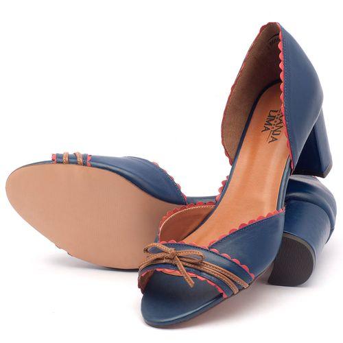Laranja_Lima_Shoes_Sapatos_Femininos_Sandalia_Laranja_Lima_Shoes_Classic_Salto_de_6_cm_em_Couro_Marinho_-_Codigo_-_3472_2