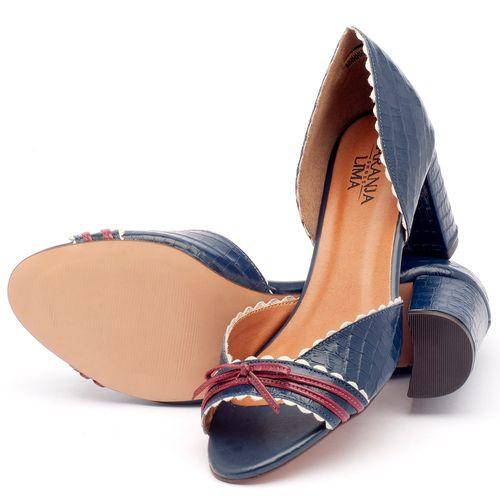 Laranja_Lima_Shoes_Sapatos_Femininos_Sandalia_Laranja_Lima_Shoes_Classic_Salto_de_6_cm_em_Couro_Bicolor_-_Codigo_-_3472_2