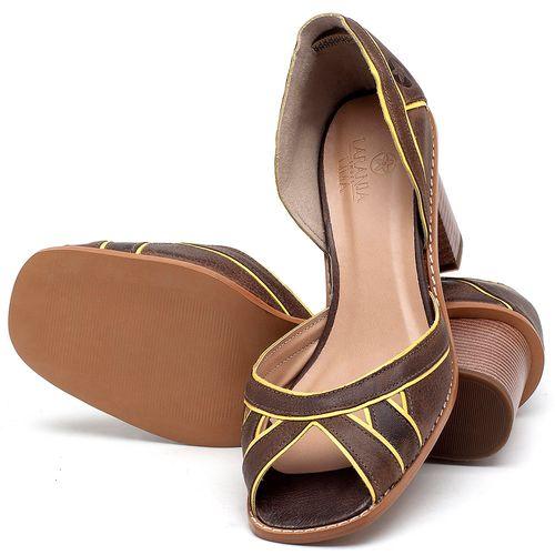 Laranja_Lima_Shoes_Sapatos_Femininos_Sandalia_Laranja_Lima_Shoes_Classic_Salto_de_6_cm_em_Material_Misto_Cafe_-_Codigo_-_3489_2
