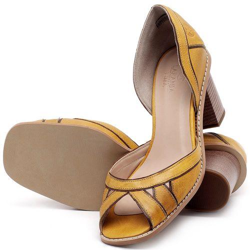 Laranja_Lima_Shoes_Sapatos_Femininos_Sandalia_Laranja_Lima_Shoes_Classic_Salto_de_6_cm_em_Material_Misto_Amarelo_-_Codigo_-_3489_2