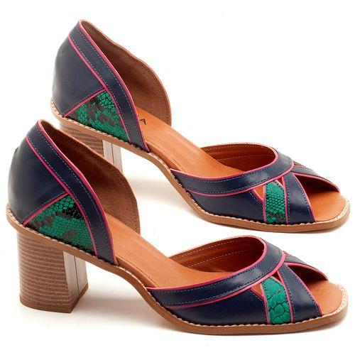 Laranja_Lima_Shoes_Sapatos_Femininos_Sandalia_Laranja_Lima_Shoes_Classic_Salto_de_6_cm_em_Material_Misto_Bicolor_-_Codigo_-_3489_1