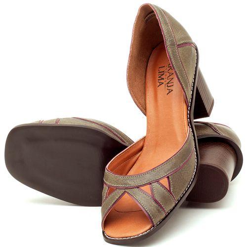 Laranja_Lima_Shoes_Sapatos_Femininos_Sandalia_Laranja_Lima_Shoes_Classic_Salto_de_6_cm_em_Material_Misto_Musgo_-_Codigo_-_3489_2