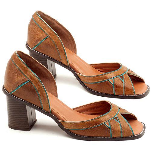 Laranja_Lima_Shoes_Sapatos_Femininos_Sandalia_Laranja_Lima_Shoes_Classic_Salto_de_6_cm_em_Material_Misto_Caramelo_-_Codigo_-_3489_1