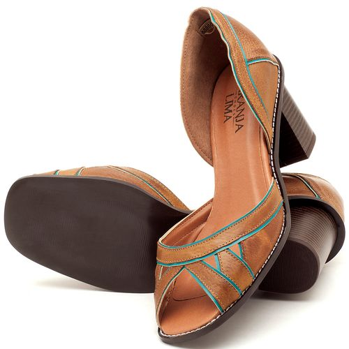 Laranja_Lima_Shoes_Sapatos_Femininos_Sandalia_Laranja_Lima_Shoes_Classic_Salto_de_6_cm_em_Material_Misto_Caramelo_-_Codigo_-_3489_2