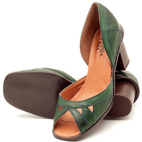 Laranja_Lima_Shoes_Sapatos_Femininos_Sandalia_Laranja_Lima_Shoes_Classic_Salto_de_6_cm_em_Material_Misto_Verde_-_Codigo_-_3489_2