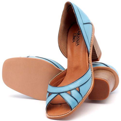 Laranja_Lima_Shoes_Sapatos_Femininos_Sandalia_Laranja_Lima_Shoes_Classic_Salto_de_6_cm_em_Material_Misto_Azul_-_Codigo_-_3489_2