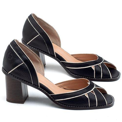 Laranja_Lima_Shoes_Sapatos_Femininos_Sandalia_Laranja_Lima_Shoes_Classic_Salto_de_6_cm_em_Material_Misto_Preto_-_Codigo_-_3489_1