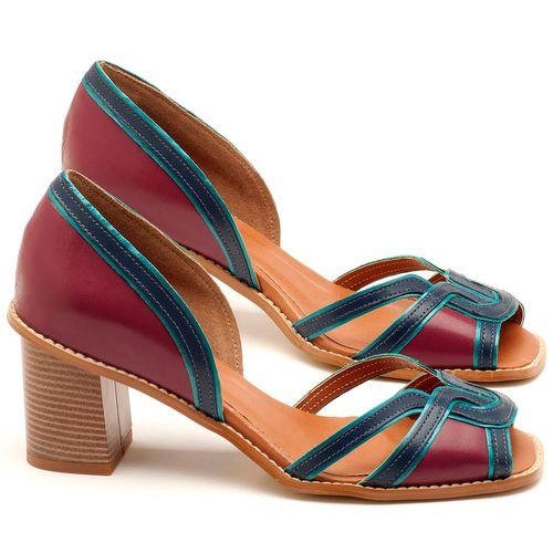 Laranja_Lima_Shoes_Sapatos_Femininos_Sandalia_Laranja_Lima_Shoes_Classic_Salto_de_7_cm_em_Material_Misto_Vinho_-_Codigo_-_3491_1