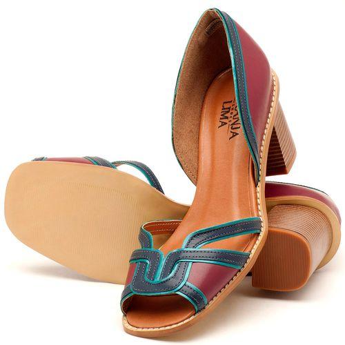 Laranja_Lima_Shoes_Sapatos_Femininos_Sandalia_Laranja_Lima_Shoes_Classic_Salto_de_7_cm_em_Material_Misto_Vinho_-_Codigo_-_3491_2