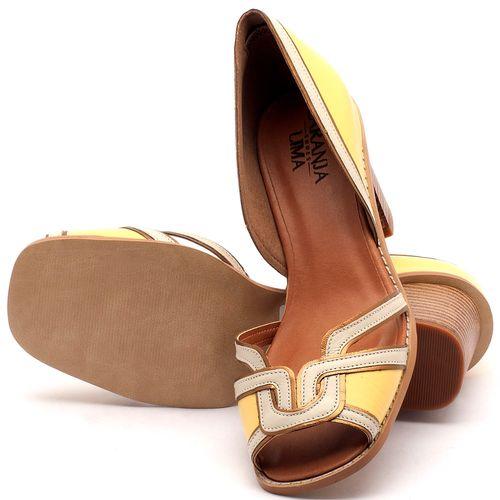 Laranja_Lima_Shoes_Sapatos_Femininos_Sandalia_Laranja_Lima_Shoes_Classic_Salto_de_7_cm_em_Material_Misto_Amarelo_-_Codigo_-_3491_2