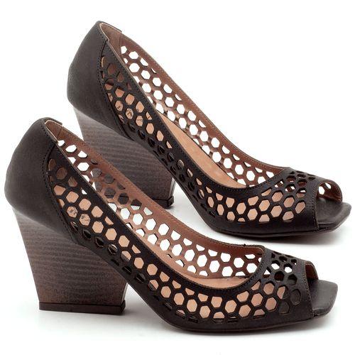Laranja_Lima_Shoes_Sapatos_Femininos_Peep_Toe_Laranja_Lima_Shoes_Salto_de_6_cm_em_Couro_Preto_-_Codigo_-_3498_1