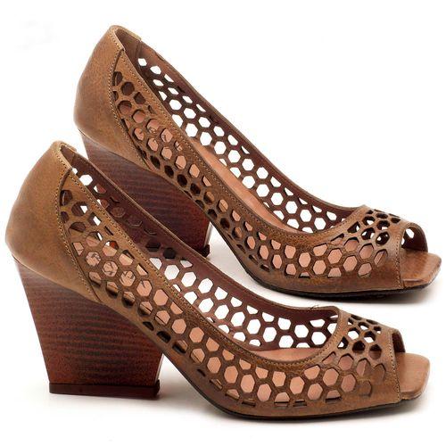 Laranja_Lima_Shoes_Sapatos_Femininos_Peep_Toe_Laranja_Lima_Shoes_Salto_de_6_cm_em_Couro_Marrom_-_Codigo_-_3498_1