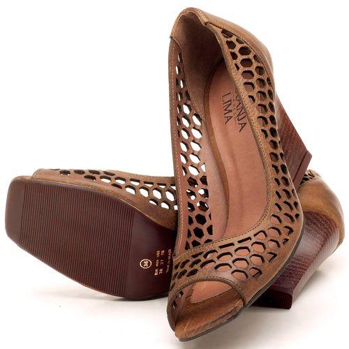 Laranja_Lima_Shoes_Sapatos_Femininos_Peep_Toe_Laranja_Lima_Shoes_Salto_de_6_cm_em_Couro_Marrom_-_Codigo_-_3498_2