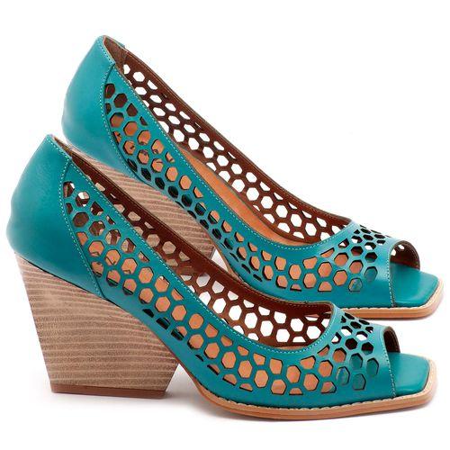 Laranja_Lima_Shoes_Sapatos_Femininos_Peep_Toe_Laranja_Lima_Shoes_Salto_de_6_cm_em_Couro_Azul_-_Codigo_-_3498_1