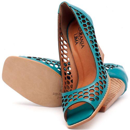 Laranja_Lima_Shoes_Sapatos_Femininos_Peep_Toe_Laranja_Lima_Shoes_Salto_de_6_cm_em_Couro_Azul_-_Codigo_-_3498_2