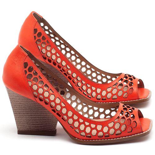 Laranja_Lima_Shoes_Sapatos_Femininos_Peep_Toe_Laranja_Lima_Shoes_Salto_de_6_cm_em_Couro_Laranja_-_Codigo_-_3498_1