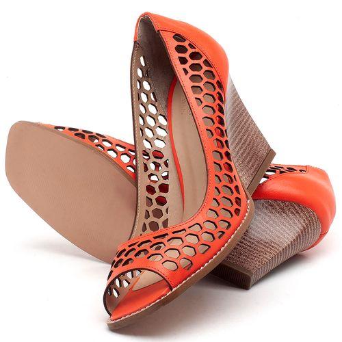 Laranja_Lima_Shoes_Sapatos_Femininos_Peep_Toe_Laranja_Lima_Shoes_Salto_de_6_cm_em_Couro_Laranja_-_Codigo_-_3498_2