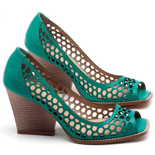 Laranja_Lima_Shoes_Sapatos_Femininos_Peep_Toe_Laranja_Lima_Shoes_Salto_de_6_cm_em_Couro_Verde_-_Codigo_-_3498_1