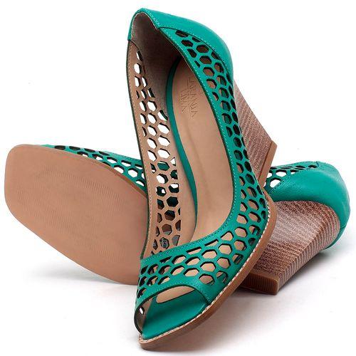 Laranja_Lima_Shoes_Sapatos_Femininos_Peep_Toe_Laranja_Lima_Shoes_Salto_de_6_cm_em_Couro_Verde_-_Codigo_-_3498_2