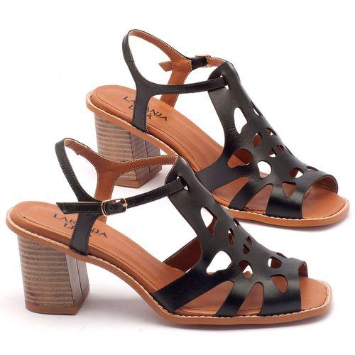Laranja_Lima_Shoes_Sapatos_Femininos_Sandalia_Laranja_Lima_Shoes_Classic_Salto_de_6_cm_em_Couro_Preto_-_Codigo_-_3508_1