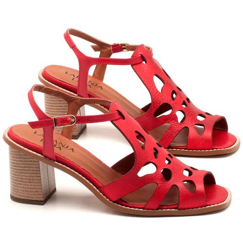 Laranja_Lima_Shoes_Sapatos_Femininos_Sandalia_Laranja_Lima_Shoes_Classic_Salto_de_6_cm_em_Couro_Vermelho_-_Codigo_-_3508_1