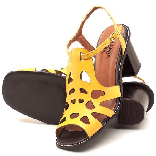 Laranja_Lima_Shoes_Sapatos_Femininos_Sandalia_Laranja_Lima_Shoes_Classic_Salto_de_6_cm_em_Couro_Amarelo_-_Codigo_-_3508_2