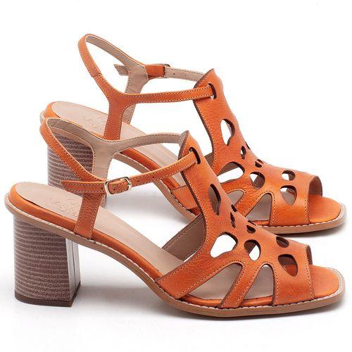 Laranja_Lima_Shoes_Sapatos_Femininos_Sandalia_Laranja_Lima_Shoes_Classic_Salto_de_6_cm_em_Couro_Laranja_-_Codigo_-_3508_1