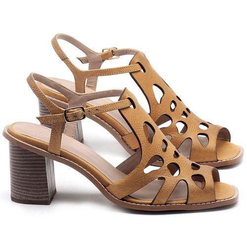 Laranja_Lima_Shoes_Sapatos_Femininos_Sandalia_Laranja_Lima_Shoes_Classic_Salto_de_6_cm_em_Couro_Amarelo_-_Codigo_-_3508_1