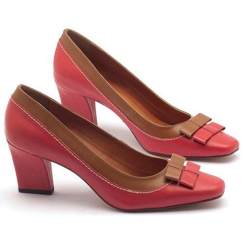 Laranja_Lima_Shoes_Sapatos_Femininos_Scarpin_Salto_Medio_de_6_cm_em_Couro_Bicolor_-_Codigo_-_3511_1