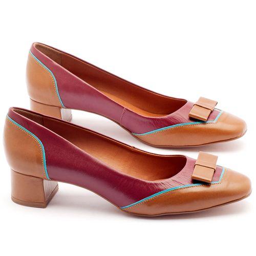 Laranja_Lima_Shoes_Sapatos_Femininos_Scarpin_Salto_Medio_de_4_cm_em_Couro_Bicolor_-_Codigo_-_3512_1