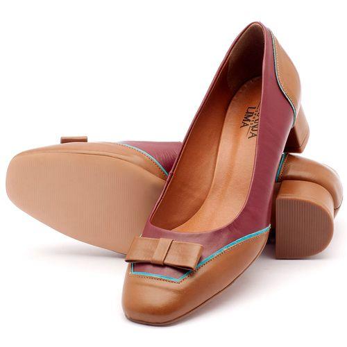 Laranja_Lima_Shoes_Sapatos_Femininos_Scarpin_Salto_Medio_de_4_cm_em_Couro_Bicolor_-_Codigo_-_3512_2