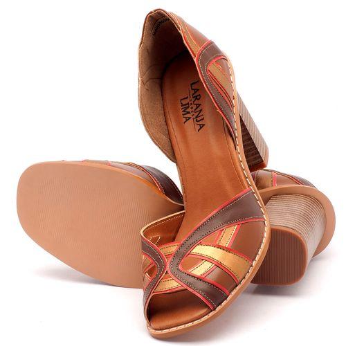 Laranja_Lima_Shoes_Sapatos_Femininos_Sandalia_Laranja_Lima_Shoes_Classic_Salto_de_6_cm_em_Partes_em_Couro_e_Partes_em_Sintetico_Multicolor_-_Codigo_-_3514_2