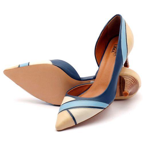 Laranja_Lima_Shoes_Sapatos_Femininos_Scarpin_Salto_Medio_de_5_cm_em_Couro_Bicolor_-_Codigo_-_3516_2