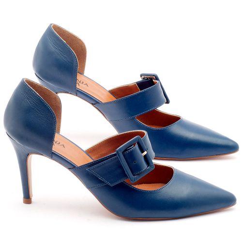 Laranja_Lima_Shoes_Sapatos_Femininos_Scarpin_Salto_Alto_de_9_cm_em_Couro_Azul_-_Codigo_-_3532_1