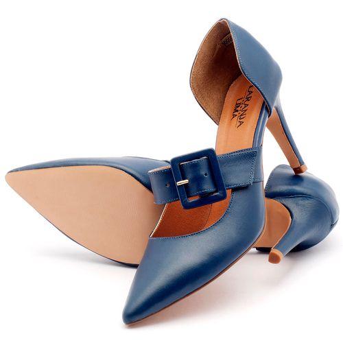 Laranja_Lima_Shoes_Sapatos_Femininos_Scarpin_Salto_Alto_de_9_cm_em_Couro_Azul_-_Codigo_-_3532_2