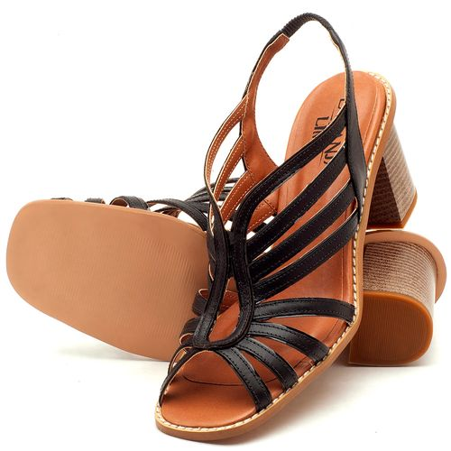 Laranja_Lima_Shoes_Sapatos_Femininos_Sandalia_Laranja_Lima_Shoes_Classic_Salto_de_6_cm_em_Couro_Preto_-_Codigo_-_3538_2