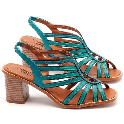 Laranja_Lima_Shoes_Sapatos_Femininos_Sandalia_Laranja_Lima_Shoes_Classic_Salto_de_6_cm_em_Couro_Azul_-_Codigo_-_3538_1