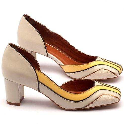 Laranja_Lima_Shoes_Sapatos_Femininos_Scarpin_Salto_Medio_de_6_cm_em_Couro_Off-White_-_Codigo_-_3540_1