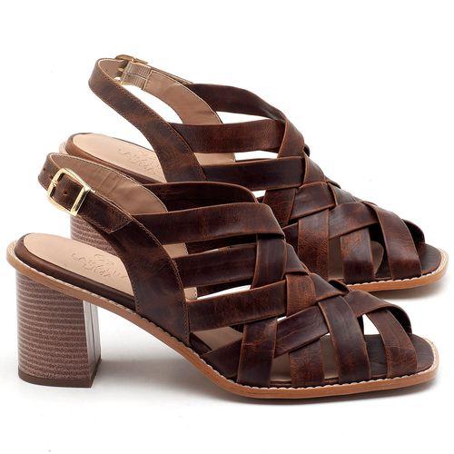 Laranja_Lima_Shoes_Sapatos_Femininos_Sandalia_Laranja_Lima_Shoes_Classic_Salto_de_6_cm_em_Couro_Cafe_-_Codigo_-_3544_1